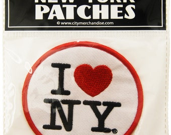 I Love New York Clothing Patch