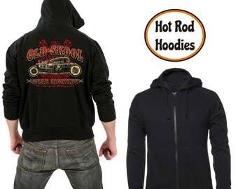 Zipper hoodie Old skool