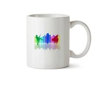 Music Band Colour Block Mug