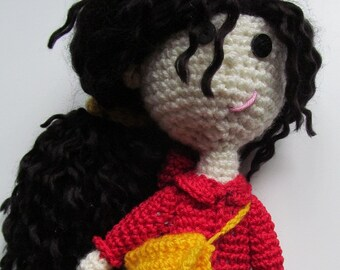 CAROLINE, handmade stuffed toy