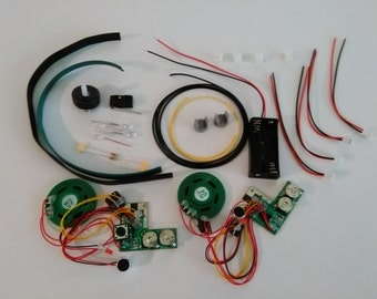 E-11 Blaster Rifle Electronic Lights and Sound DIY Kit for Blaster-MasterUS E-11 Model