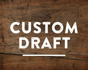 Custom Wood Sign, Custom Draft, Wood Sign, Wooden Sign, Business Signs, Custom Business Sign, Personalized Sign, Draft, Home Decor, Gift