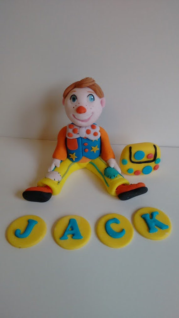How To Make Mr Tumble Cake Topper