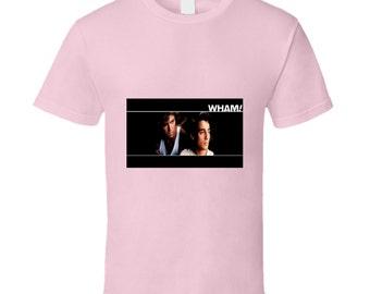 Wham! Pink Tshirt
