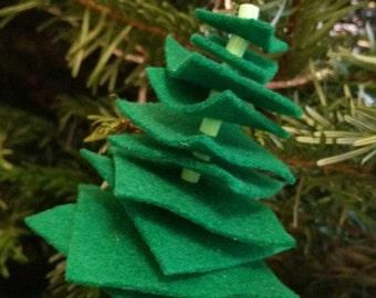 Cute Christmas tree hanging ornament