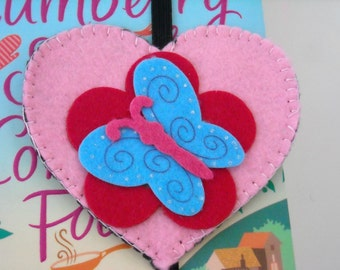 Heart Shaped Bookmark