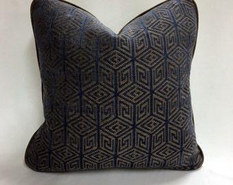 "Geometric Pillow 18"" x 18"""
