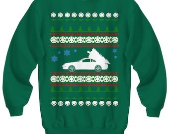 Honda Prelude Ugly Christmas Sweater Sweatshirt JDM Holidays