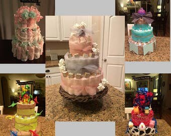 Personalized Diaper Cakes
