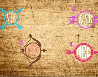 Arrow Monograms