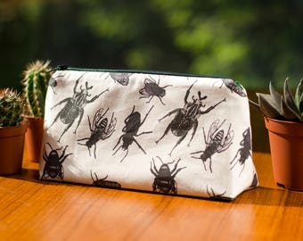 Insect Cosmetics Bag