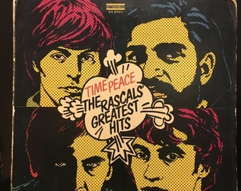 ON SALE Vintage 1968 Time Peace The Rascals Greatest Hits Vinyl LP Record Good Condition