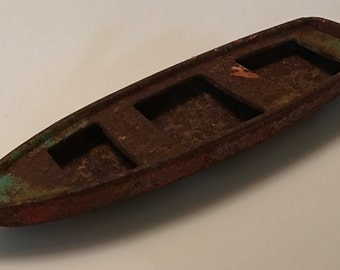 Vintage Rusted Boat