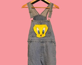 Tweety Looney Tunes Short Overalls