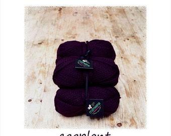Cozmeena Shawl Kit ~ Eggplant