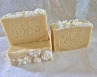 Jasmine Rice Milk Soap, Natural Soap, Vegan, Herbal Soap, Coconut milk soap