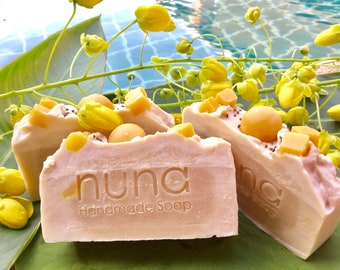 Mango Butter Soap, Handmade Soap, Vegan, Coconut milk soap, palm oil free