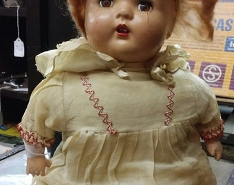 Antique Creep Baby Doll (She Cries)