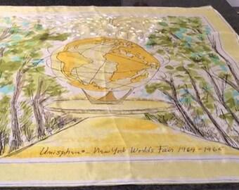 Unisphere-New York World's Fair 1964-1965 Vera ladybug scarf