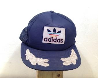Vintage Addidas trucker hat