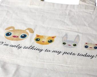 Shopping Bag - Pet Talk