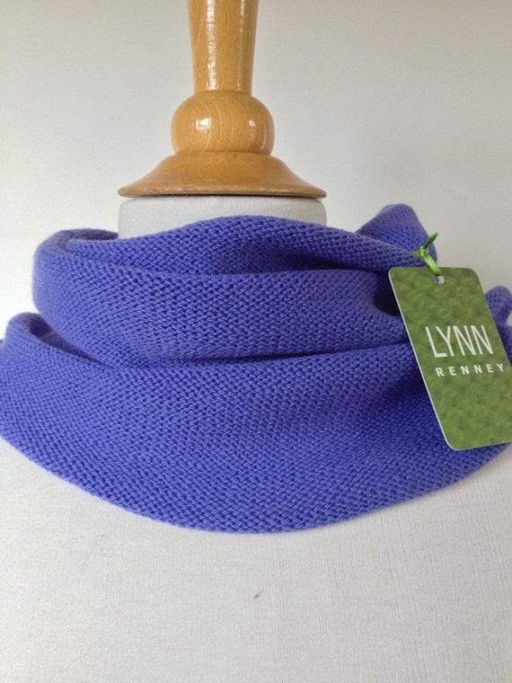 Snood - neck warmer - cornflower blue