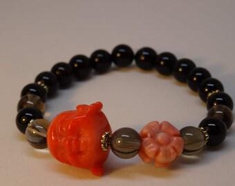 Bracelet Onyx with Buddha