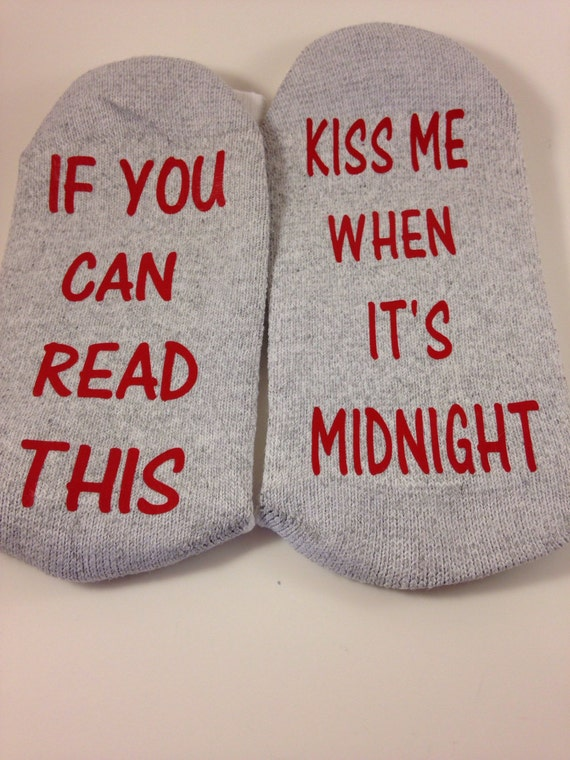 Socks crews if you can read this ... Kiss me when it's midnight