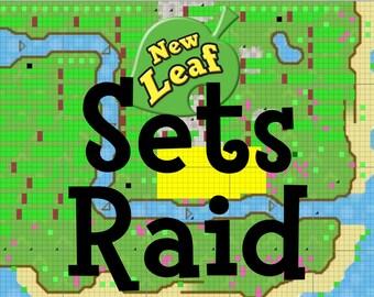 Animal Crossing New Leaf Sets/Series Raid with 20 Million Bells