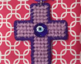 Evil Eye Cross