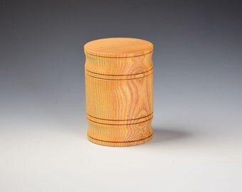 Keepsake barrel box - Ash