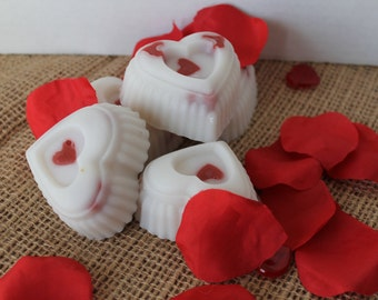 Lemon Bergamot Heart Soap