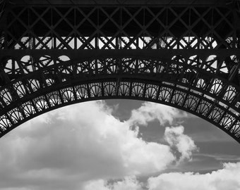 Eiffel Tower (detail), Paris, France