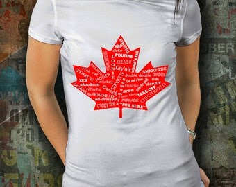 Canada T-shirt - Canadian Tshirt - Maple Leaf - Funny T-Shirt - Humorous T Shirt - Gift For Him - Gift For Her - Funny Tee - Unisex