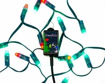 Snowflake Dancing LED Christmas Tree Light Show