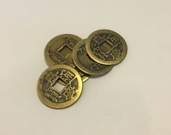 Talisman, Prosperity, Chinese Coin, I-Ching