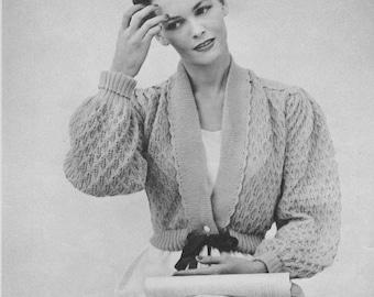 1950s Bed Jacket