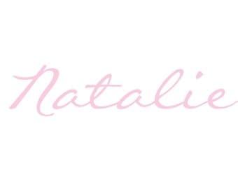 Custom Name - Font 3
