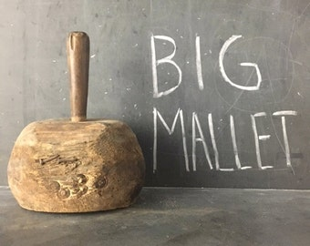 Wooden Mallet/ SALE