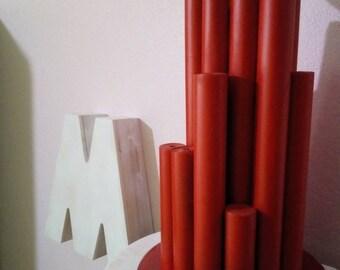 Ligh|Handmade|Rolled Magazine|HomeDécor|Gift for Her|LivingRoom Décor