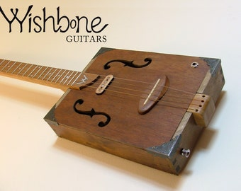 Cigar Box Guitar by Wishbone