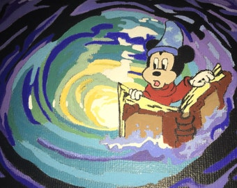 Sorcerer Mickey whirlpool
