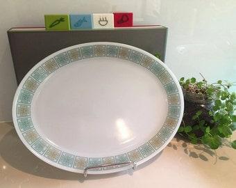 Vintage Phoenix Glass Platter - Celtic Design