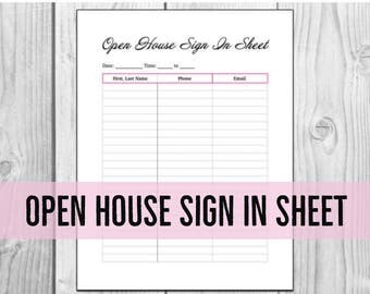 Open house welcome sign realtor real estate open house sign for Realtor open house sign in sheet template
