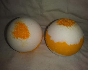 Fresh Lemon Aromatherapy 4 oz Bath Bomb
