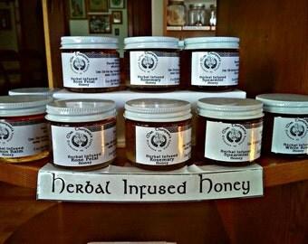 Herb Infused Honey  2 oz (56.6990 grams)