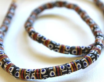 African Sandcast Beads from Ghana - ASC-T-026