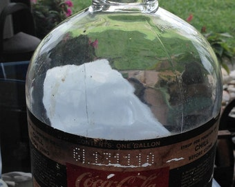 Coca-Cola Syrup One Gallon Bottle or Jug for making Coke Soda Pop