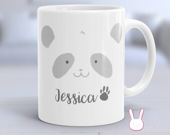 Panda Mug - Customizable Mug - Personalized Mug - Panda Gifts - Panda Lovers - Animal Mugs - Panda Coffee Mug - Coffee Mug - Bear Mug