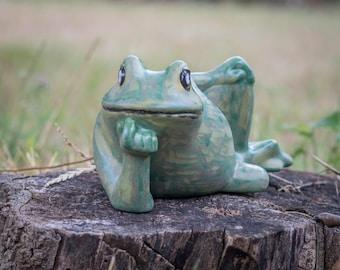 Frisky Freckled Frog